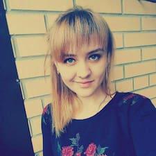 Henkilön Кристина käyttäjäprofiili