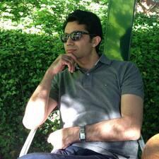 Perfil do utilizador de Hamed