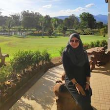 Haniza User Profile