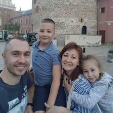 Nutzerprofil von Tatiana, Sasha, Ilya & Valeriya