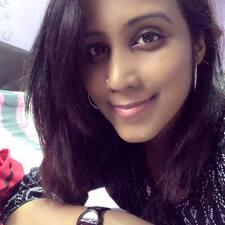 Perfil do utilizador de Priya