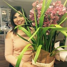 Sharmeen felhasználói profilja
