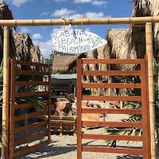 Henkilön Cabaña Beach Palomino käyttäjäprofiili