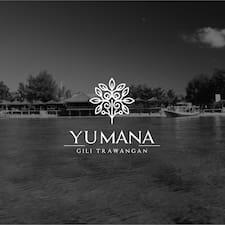 Profil utilisateur de Yumana