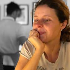 Henkilön Daniela käyttäjäprofiili