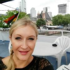 Kristina felhasználói profilja