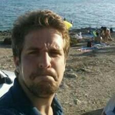 Antony felhasználói profilja