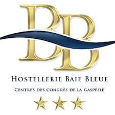Gebruikersprofiel Hostellerie Baie Bleue