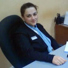 Irine felhasználói profilja