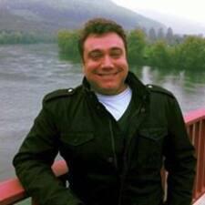 Pedro felhasználói profilja