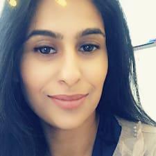 Sameena felhasználói profilja