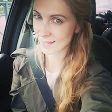 Alina felhasználói profilja