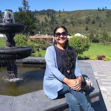 Maria Micaela felhasználói profilja