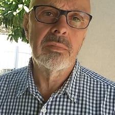 Henkilön Jean-Louis käyttäjäprofiili