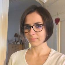 Användarprofil för Célia