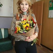Perfil do utilizador de Liudmila