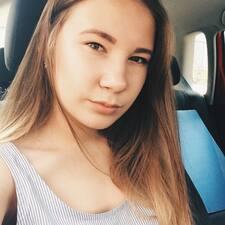 Profil utilisateur de Алина
