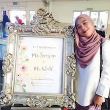 Profil utilisateur de Amira Shuhada