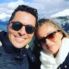 Jared & Amanda felhasználói profilja