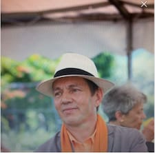 Jean Pierre felhasználói profilja