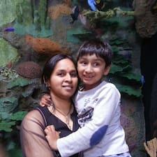 Användarprofil för Madhavi