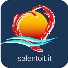 Salentoit felhasználói profilja