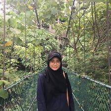 Profil utilisateur de Amira