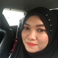 Gebruikersprofiel Siti Uraidah