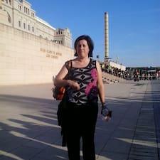 Rosa Brukerprofil