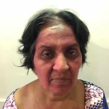 Sunita felhasználói profilja