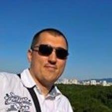 Henkilön Andrey käyttäjäprofiili
