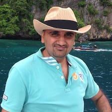Sadaqat - Uživatelský profil