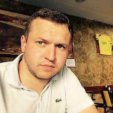 Henkilön Evgeny käyttäjäprofiili