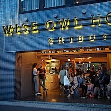 Wise Owl Hostels Shibuya是超讚房東。