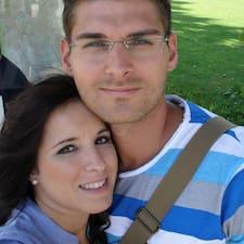 Sascha & Ester felhasználói profilja
