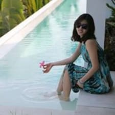 Jieun felhasználói profilja
