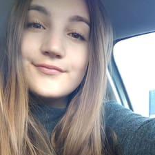 Rocío felhasználói profilja