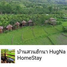 HugNa是房东。