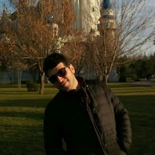 Henkilön Ahmet käyttäjäprofiili