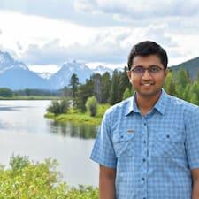 Shreyas felhasználói profilja