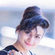 Mouna felhasználói profilja