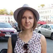 Användarprofil för Татьяна