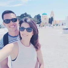 Ryan & Darya felhasználói profilja