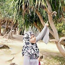 Profil utilisateur de Aishah