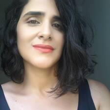 Användarprofil för Kassandra Benevides
