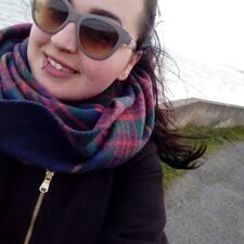 Tamara felhasználói profilja