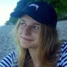 Zuzanna felhasználói profilja