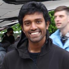 Deeptesh felhasználói profilja