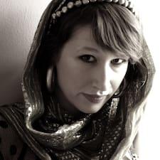Lucija felhasználói profilja