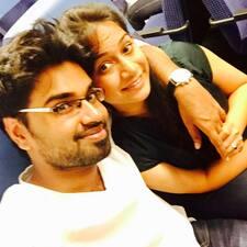 Användarprofil för Manoj & Alisha